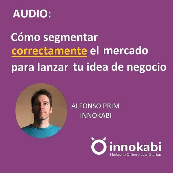 Audio segmentar clientes innokabi