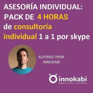 Pack 4 horas asesoramiento individual innokabi